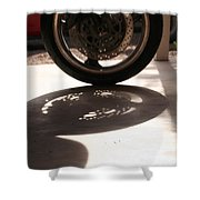 Tire Shower Curtain