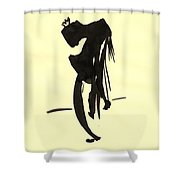 Tired King Shower Curtain