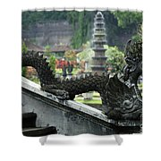 Tirta Gangga Bali Indonesia Shower Curtain