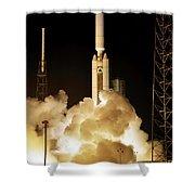 Titan Ivb Launch Shower Curtain