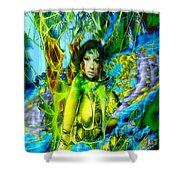 Titania-midsummers Night Dream Shower Curtain