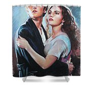 Titanic Jack And Rose Shower Curtain