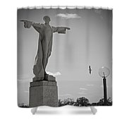 Titanic Memorial Shower Curtain