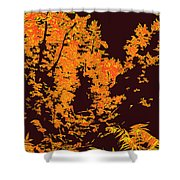 Titian Woodland Shower Curtain