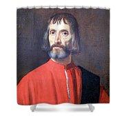 Titian's Andrea Dei Franceschi Shower Curtain