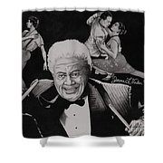 Tito Puente Shower Curtain