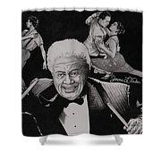 Tito Puente Shower Curtain