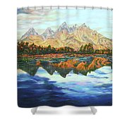 Titon Reflections Shower Curtain