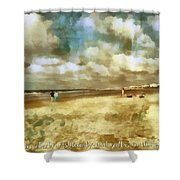Titus 2 12 Shower Curtain