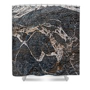 Titus Canyon Horse Shower Curtain
