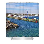 Tiverton On Digby Neck-ns Shower Curtain