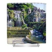 Tivoli Garden Fountains Shower Curtain