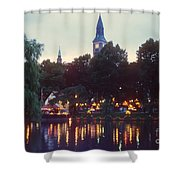 Tivoli Night Lights Shower Curtain