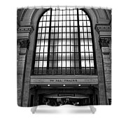 To All Trains Chicago Union Station Shower Curtain