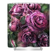 To Be Loved - Mauve Rose Shower Curtain
