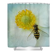 To Bee Us  Shower Curtain