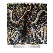 To Fly Shower Curtain