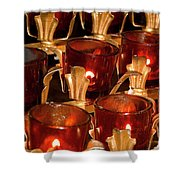 To Lite A Candle Shower Curtain
