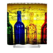 To Much Of Wine Shower Curtain