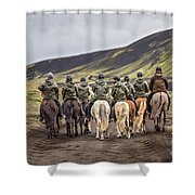 To Ride The Paths Of Legions Unknown Shower Curtain