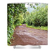 To Seclusion Shower Curtain