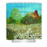 To The Edge Shower Curtain