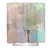 To The Rose Shower Curtain