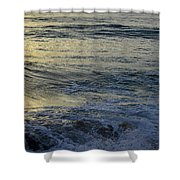 To The Seas Shower Curtain