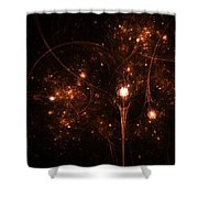 To The Stars And Back Shower Curtain