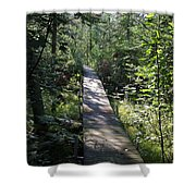 To The Trout Stream Shower Curtain