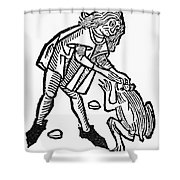Toadstone, 1491 Shower Curtain