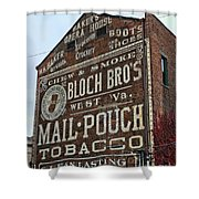Tobacciana - Mail Pouch Tobacco Shower Curtain