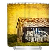Tobacco Barn In Kentucky Shower Curtain