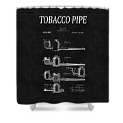 Tobacco Pipe Patent 4 Shower Curtain