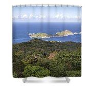 Tobago Rainforest Shower Curtain