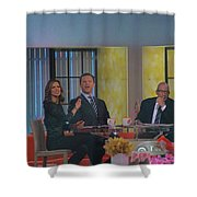 Today Show Cast Shower Curtain