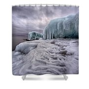 Tofte Oce Formations Shower Curtain