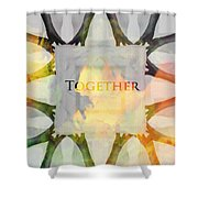 Together 2 Shower Curtain