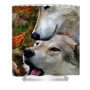Together At Last II Shower Curtain