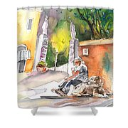 Together Old  In Italy 04 Shower Curtain