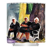 Together Old  In Italy 06 Shower Curtain