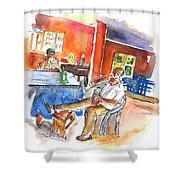 Together Old In Tenerife 03 Shower Curtain