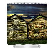 Together Until The End Shower Curtain by Thomas Young