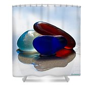 Together We Are Strong Shower Curtain by Barbara McMahon