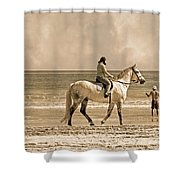 Together We Go Shower Curtain
