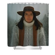 Together With Nature Swiss Alps Shower Curtain