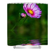 Together...always Reflection Shower Curtain