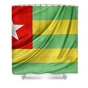 Togo Flag Shower Curtain