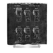 Toilet Paper Patent 040 Shower Curtain