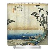 Tokaido - Shirasuka Shower Curtain